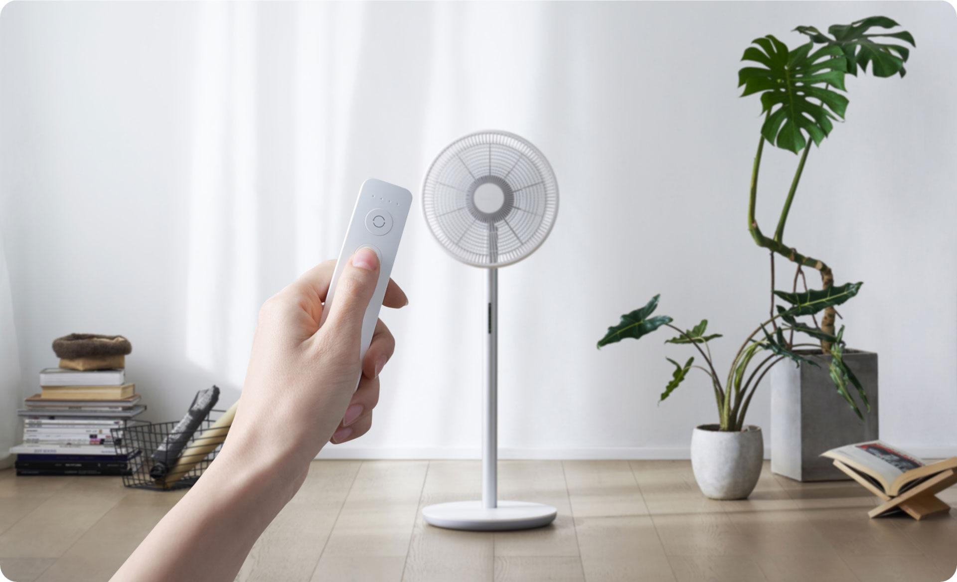Smartmi Standing Fan 3 controlled via remote