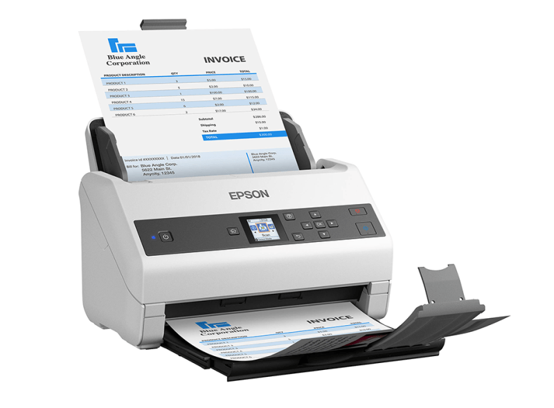 Epson DS-970 left angle