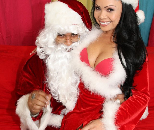 Exotic Slut In Christmas Suit Gets Fucked By Black Monster Cock And Takes Massive Facial