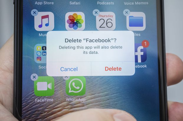 Deactivating Facebook leaves people less informed but happier, study finds