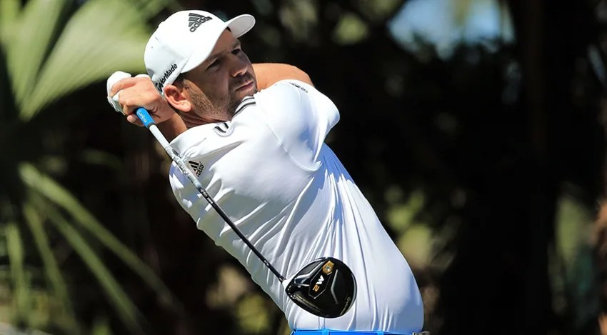 Sergio Garcia is tied for the lead at The Honda Classic. (Mike Ehrmann/Getty Images)
