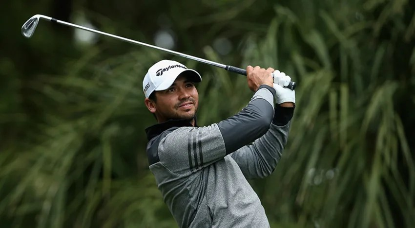 Jason Day hits a tee shot on the 11th hole during the second round of the 2016 RBC Heritage. (Streeter Lecka/Getty Images)