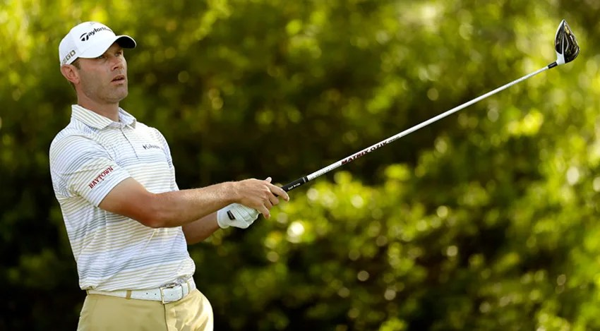Shawn Stefani made six birdies and an eagle on his way to a 5-under 65 in Round 1 of the FedEx St. Jude Classic in Memphis, Tennessee. (Andy Lyons/Getty Images)