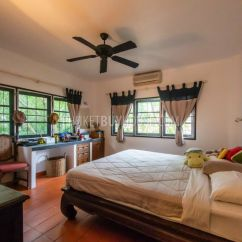 Island Kitchen Hood Oak And White Table 3-bedroom Villa On A Huge Plot Of Land In The Rawai Area ...