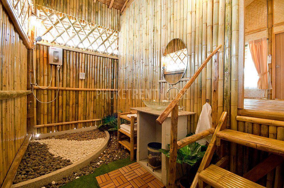 RAW2429 Bamboo 1 Bedroom Bungalow in Rawai  Phuket Rent House