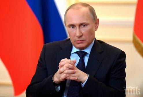 Путин поздрави руските жени с 8 март