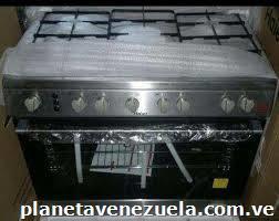 Cocina haier de 6 hornillas plateada en Caracas Distrito Capital telfono