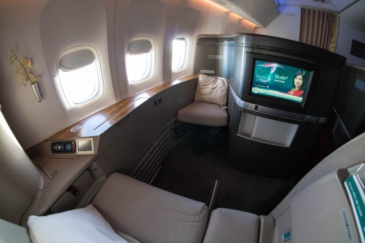 Cathay Pacific 777300ER First Class overview  Point Hacks