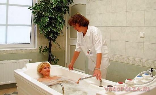 Для чего нужны радоновые ванны. Санаторий с радоновыми ваннами в Крыму