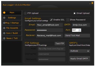 Aux Logger v3.0.0.0 Monitor