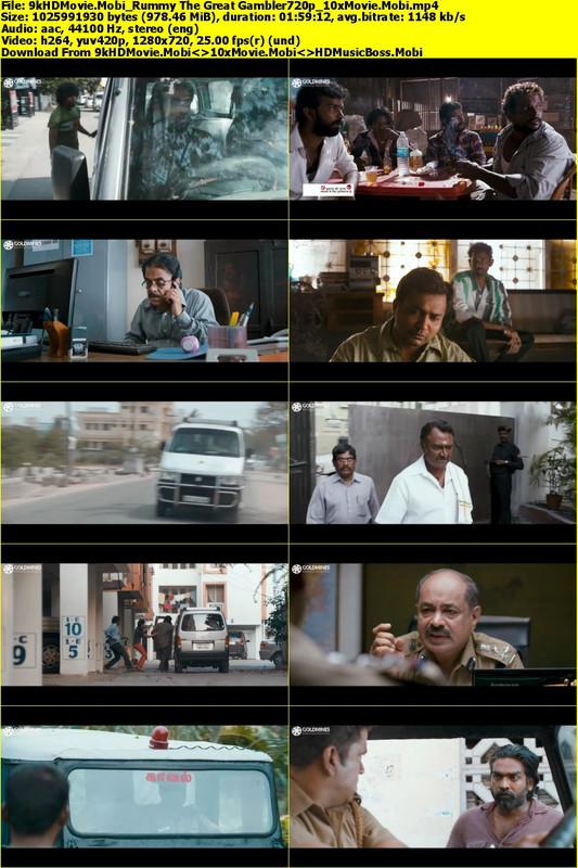 Rummy The Great Gambler (Soodhu Kavvuum) 2019 Hindi Dubbed 720p HDRip 900MB