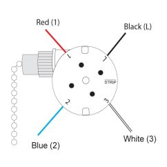 3 Speed Fan Switch 4 Wires Diagram F250 Stereo Wiring 2004 Ford Radio And Satco Ceiling Free Zing Ear Ze 208s Pull Chain Wire Rotary Black Rh Ebay Com With Capacitor