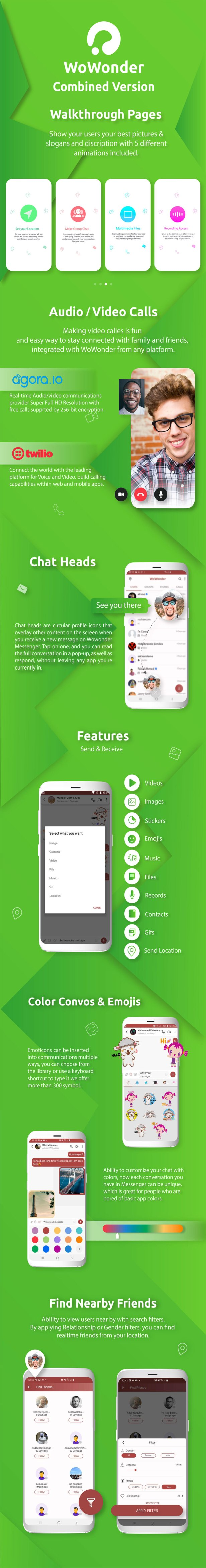 WoWonder Android Messenger - Mobile Application for WoWonder Social Script - 3