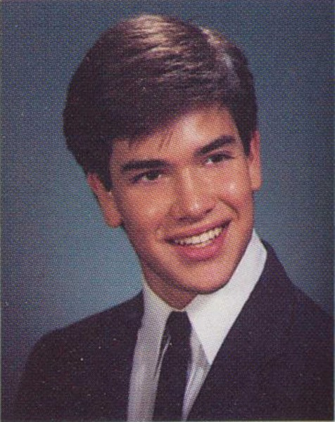 Marco Rubio during his high school in 1989