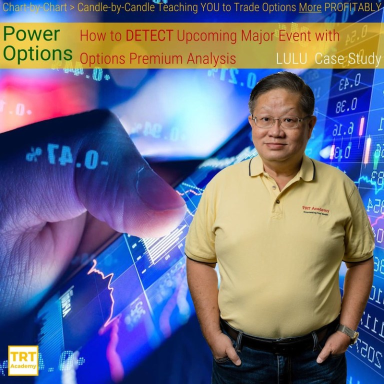 Yes… I Want to Improve My Trading Results – 2019-11 – Power Options – How to DETECT Upcoming Major Event with Options Premium Analysis – LULU Case Study