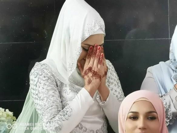gambar nikah fasha sandha
