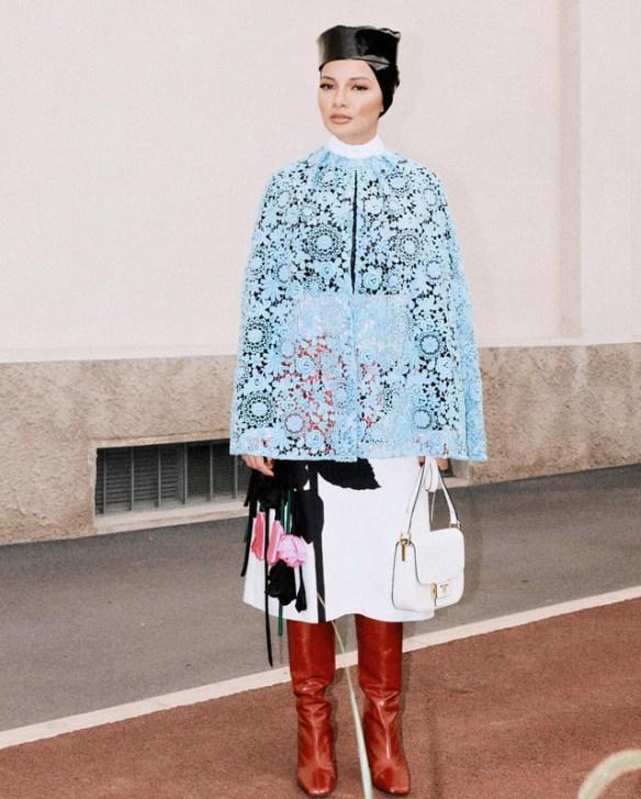 neelofa milan fashion week