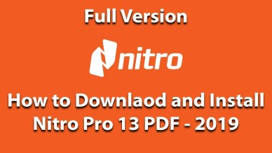 Nitro Pro 13.32.0.623 Enterprise/Retail • Path