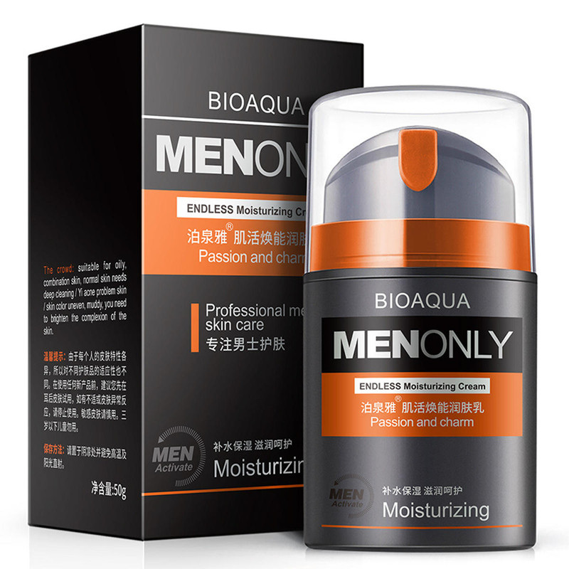 BIOAQUA Moisturizing Cream Muscle Revitalizing Men's