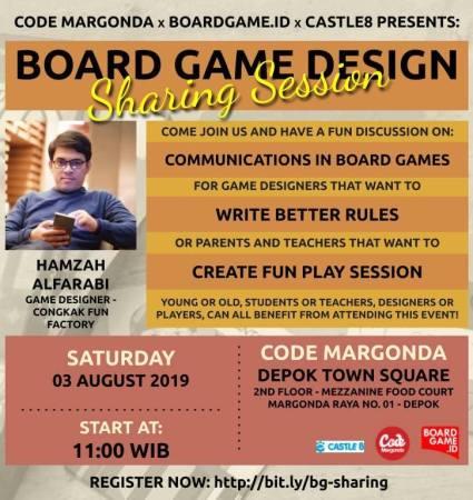 Poster cara komunikasi board game
