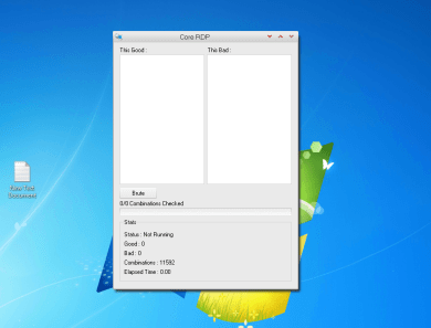 Core RDP VIP Scanner + Tutorial how to scan rdp and brute