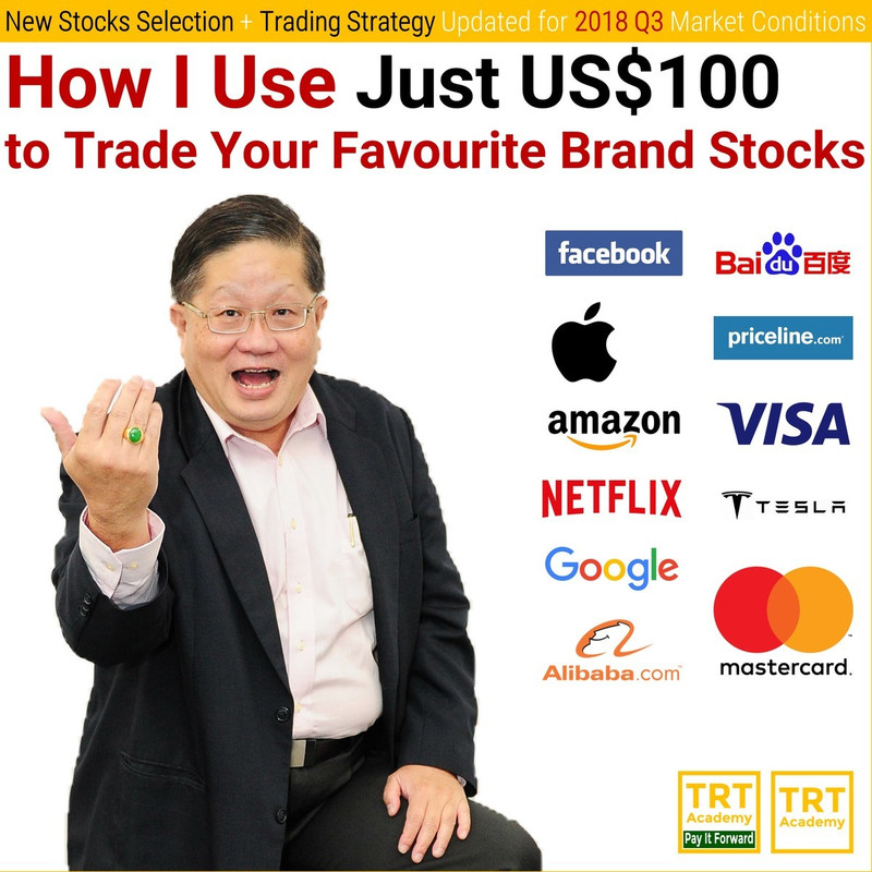 How I Use Just US$100 to Trade Your Favourite Brand Stocks – 2018 Q3 #2