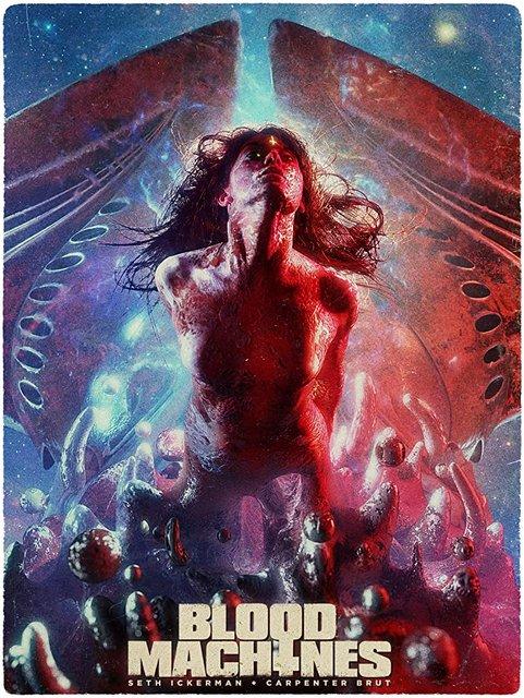 Blood Machines 2020 Movie Poster