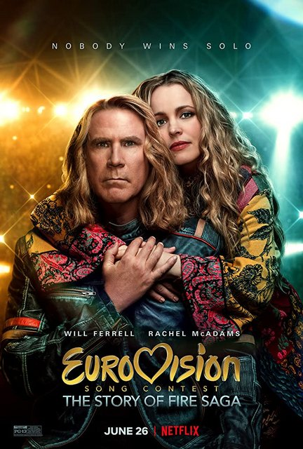 Eurovision Song Contest The Story of Fire Saga 2020 Movie Poster