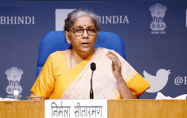nirmala sitaraman , Indian finance minister