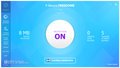F-Secure Freedome VPN version 2.37.6557 Repack