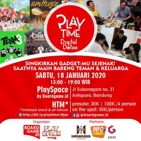 playtime digital detox poster
