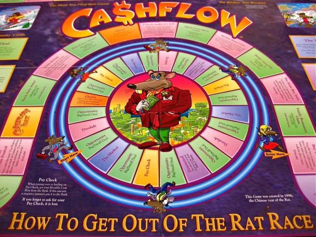 Cashflow 101 Board Game Rich Dad Poor Dad Robert Kiyosaki