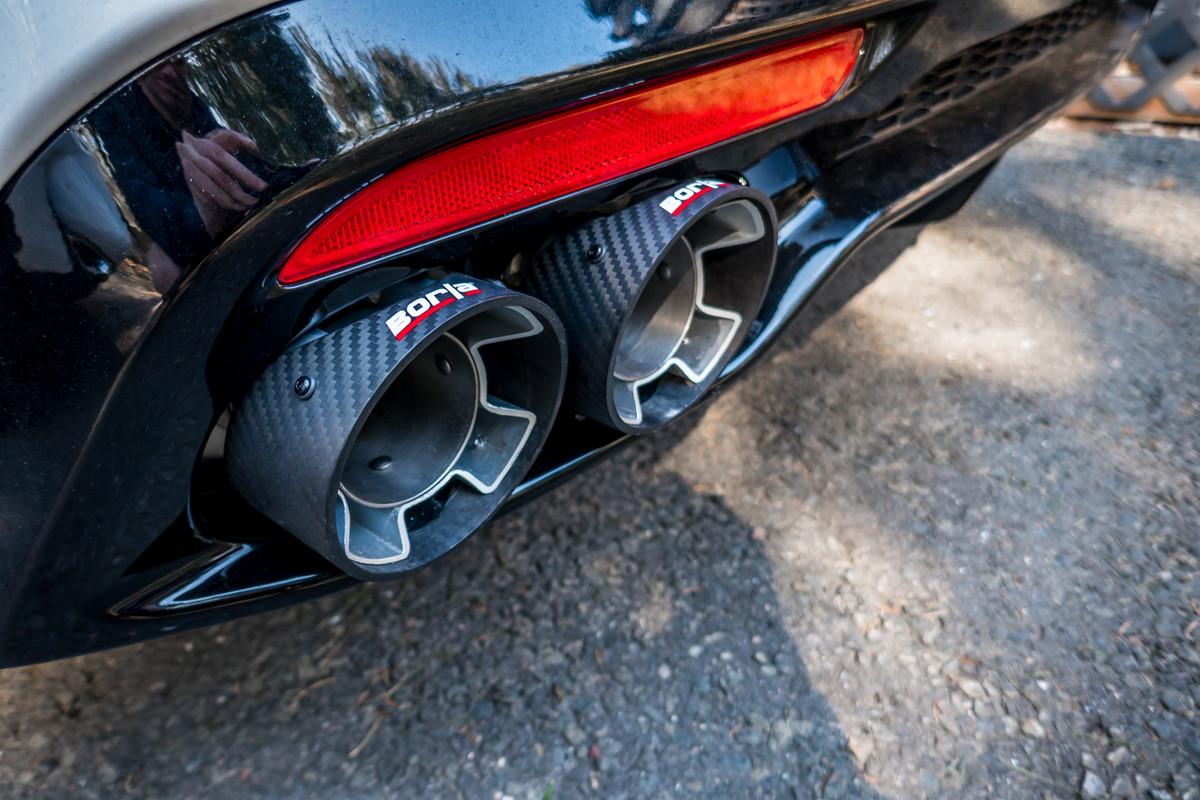 borla exhaust tips kia stinger forum