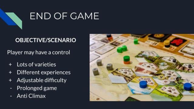 akhir permainan objective