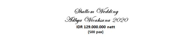 paket pernikahan jakarta lengkap di adhya wicaksana murah dengan vendor berpengalaman