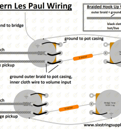 wiring diagram for modern gibson les paul [ 992 x 800 Pixel ]