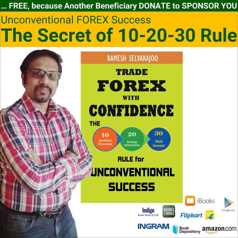 13 June 2017 – Unconventional FOREX Success: The Secret of 10-20-30 Rule