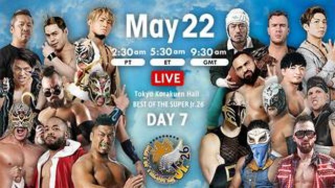 NJPW Best Of The Super Jr 26