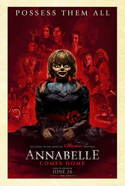 Annabelle Comes Home 2019 Movie Poster