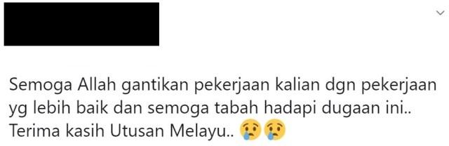 utusan malaysia ditutup selepas 80 tahun