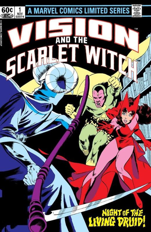 vision Scarlet Witch Volumen 2
