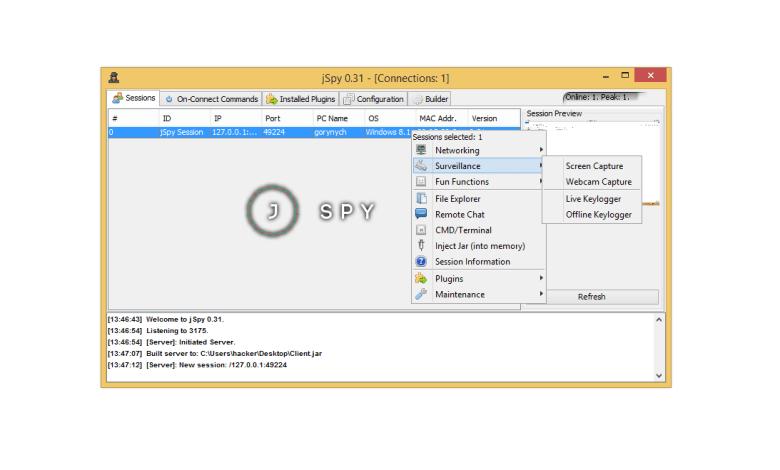 jSpy v0.31 Cracked