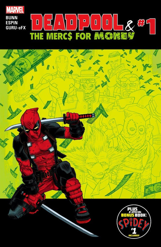 Deadpool & The Mercs for Money [5/5] Vol 1