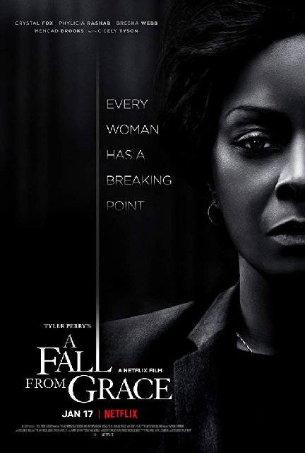 A Fall from Grace 2020 Movie Poster