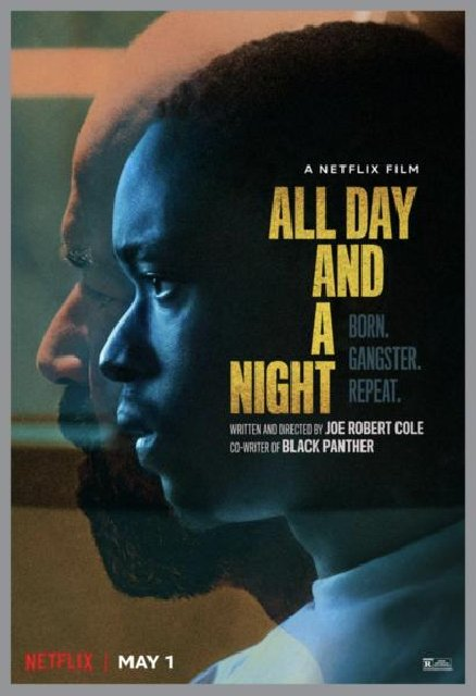 All Day and a Night 2020 Movie Poster
