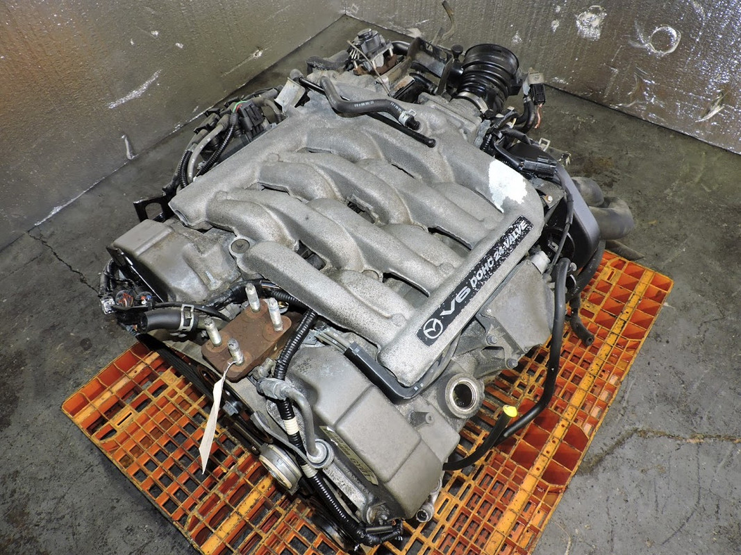hight resolution of details about 1999 to 2001 mazda mpv 2 5l v6 engine automatic transmission swap 2 jdm gy