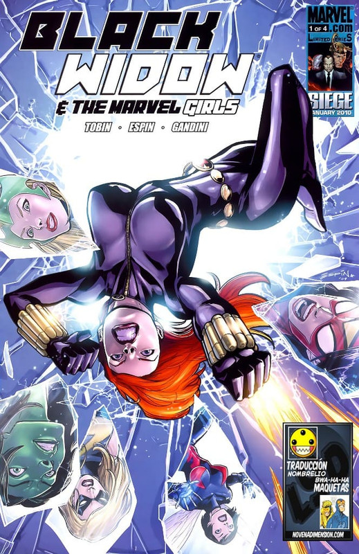 Black Widow & The Marvel Girls [4/4] Español | Mega