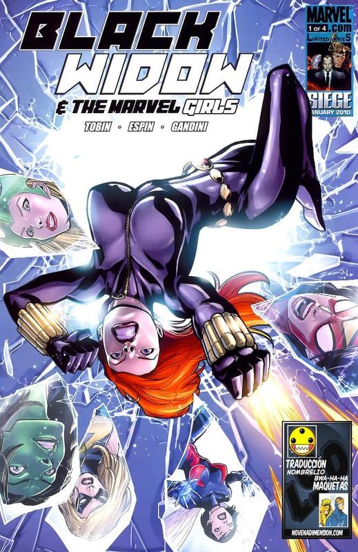 black widow marvel girls