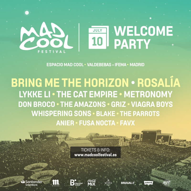 lineup-welcome-party