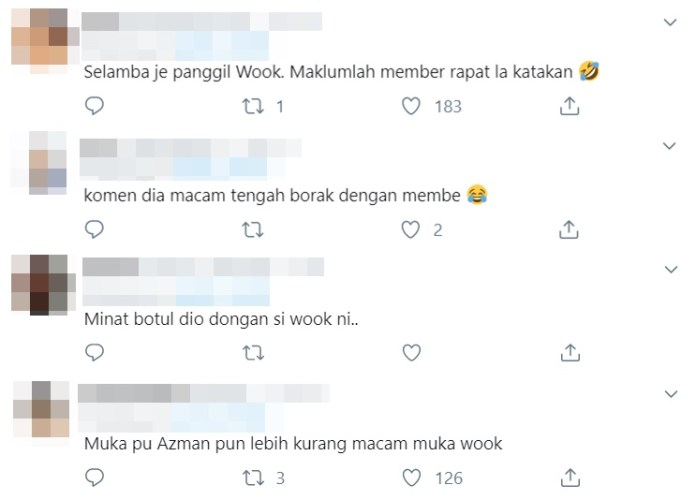 netizen terhibur pu azman tinggalkan komen pada instagram lee dongwook